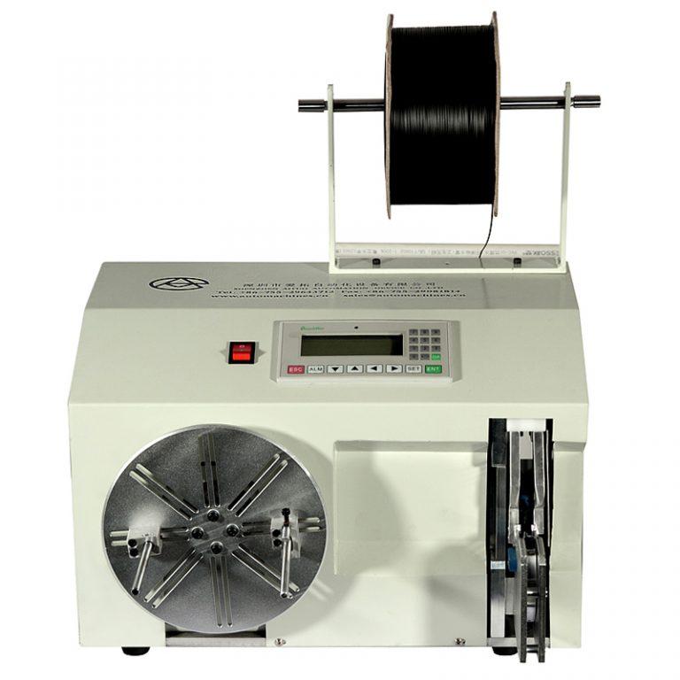 Wire winding and bunding machine