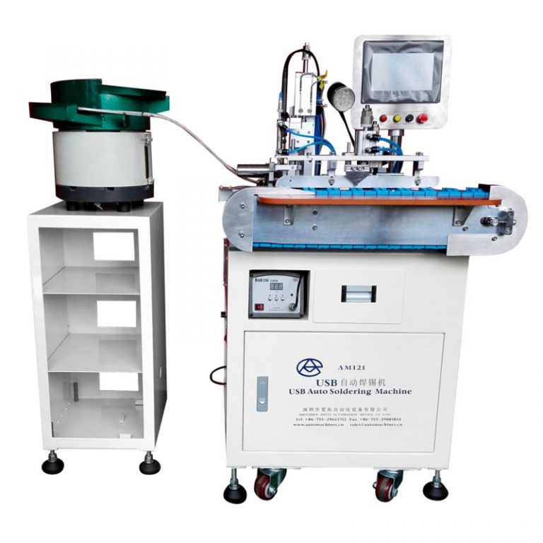Automatic USB A Male soldering machine