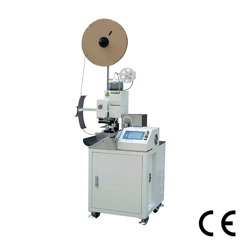 Automatic Wire Cutting Stripping Twisting and Crimping Machine ...