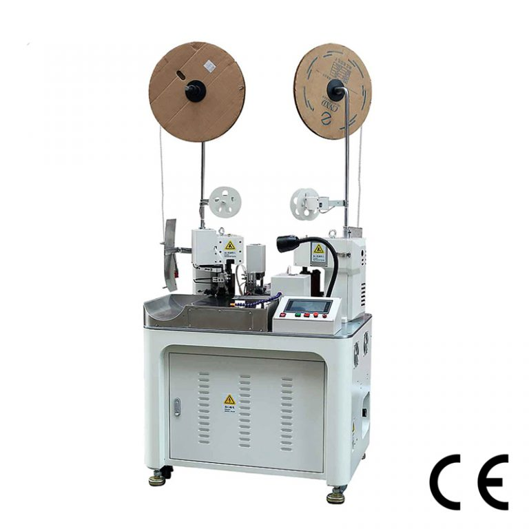 Automatic Double Cable Combined Terminal Crimping Machine