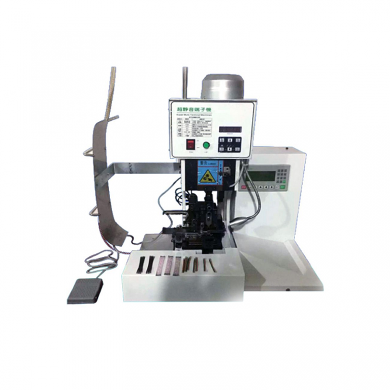 Semi-auto Flat Cable Crimping Machine