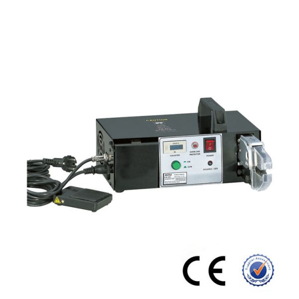 Electric stripping crimping machine