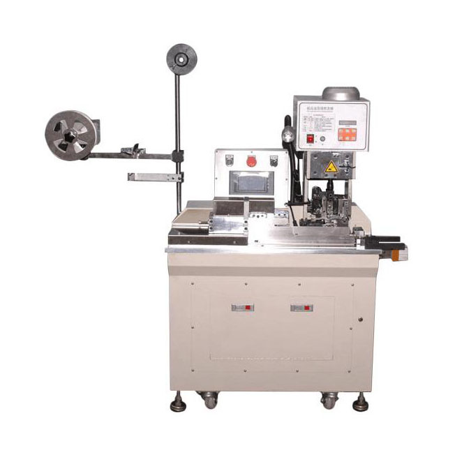 Semi Automatic flat cable crimping machine