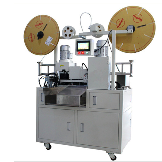 Full Automatic Flat Cable Wire Dividing, Cutting, Stripping and Crimping Machine