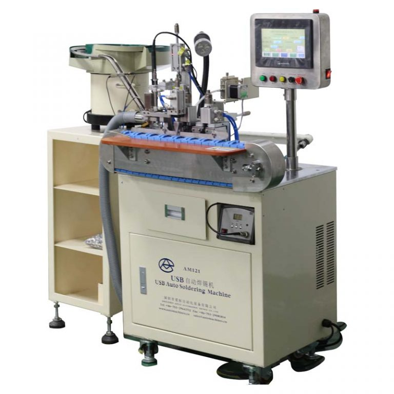 Automatic USB Type-C Cable Soldering Machine