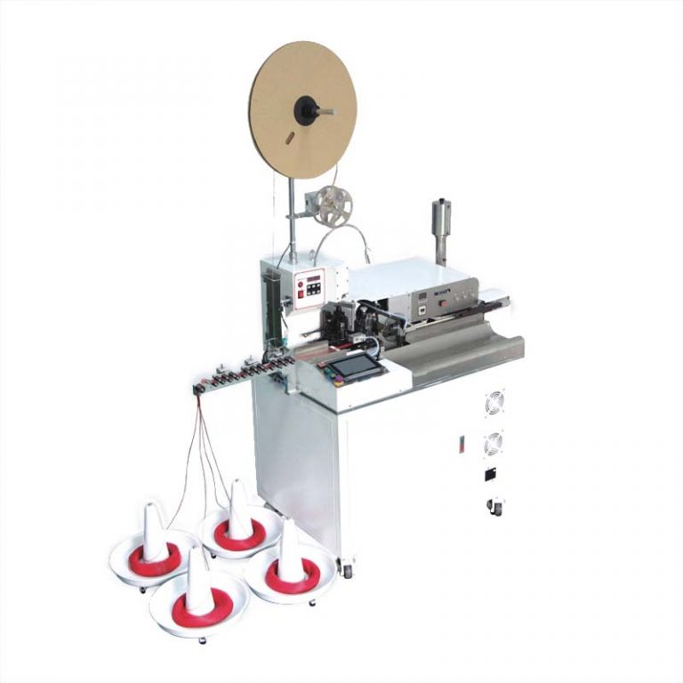 Automatic wire cutting stripping crimping tinning machine(5 wire at one time)