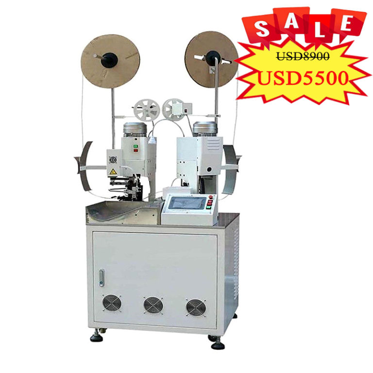 AM202 Automatic Wire Cut Strip Crimp Machine(two ends can be crimped)