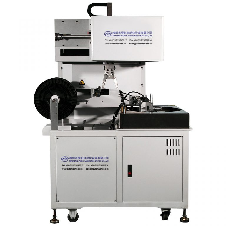 Automatic cable winding and binding machine