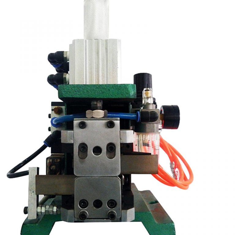 Vertical Multicore Cable Stripping and Twisting Machine