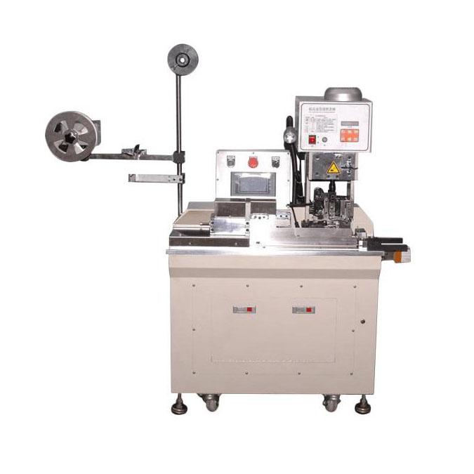 Semi Automatic flat cable crimping machine
