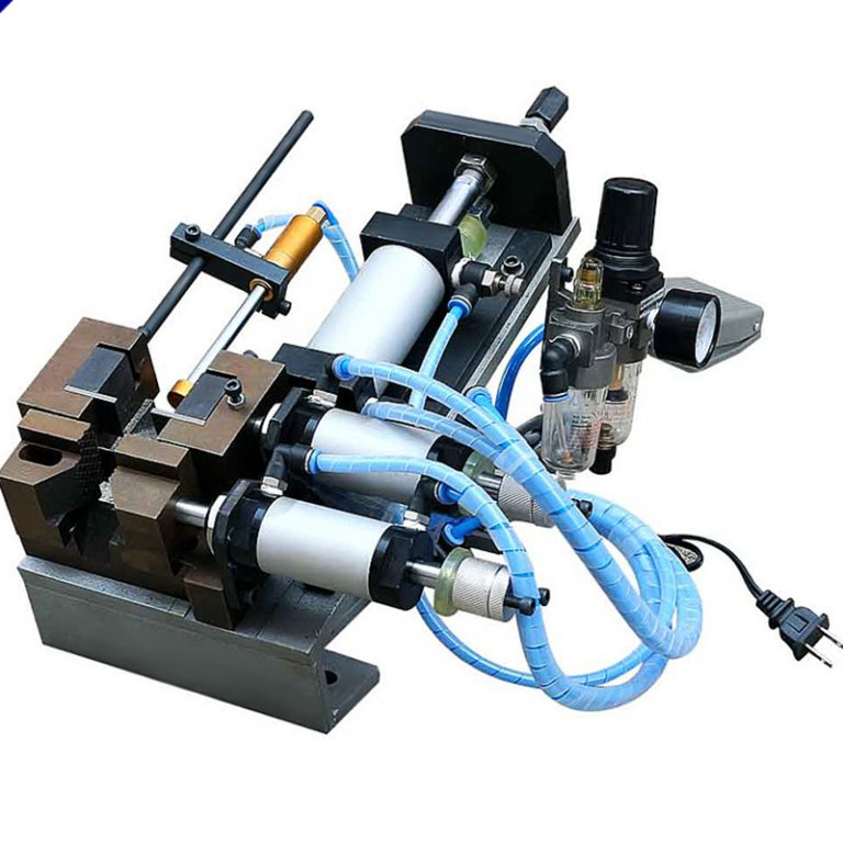 Electric and Pneumatic Wire Stripping Machine
