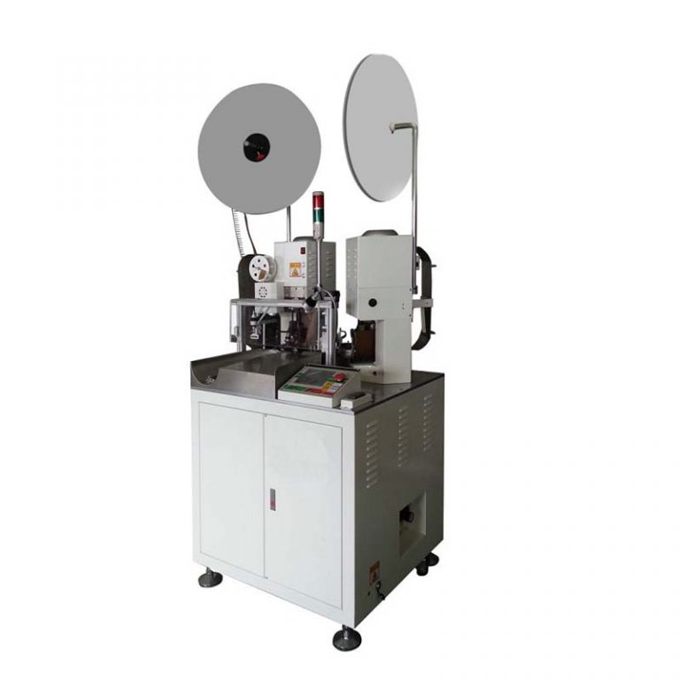 Full Automatic Waterproof Wire Cutting Stripping and Crimping Machine (Single-end)