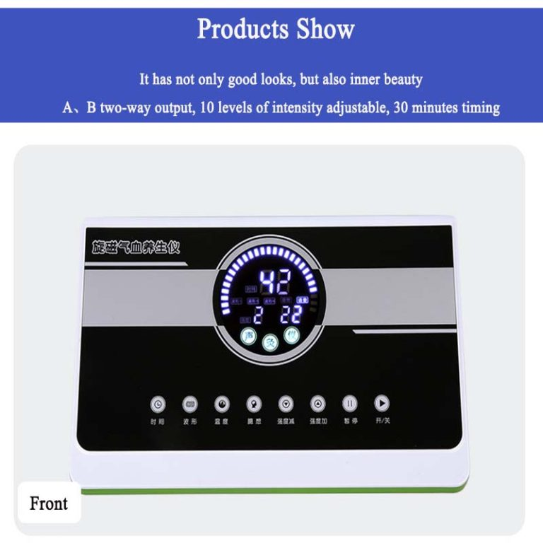 AM-618 Rotating magnetic Qi and blood healty-preserving device